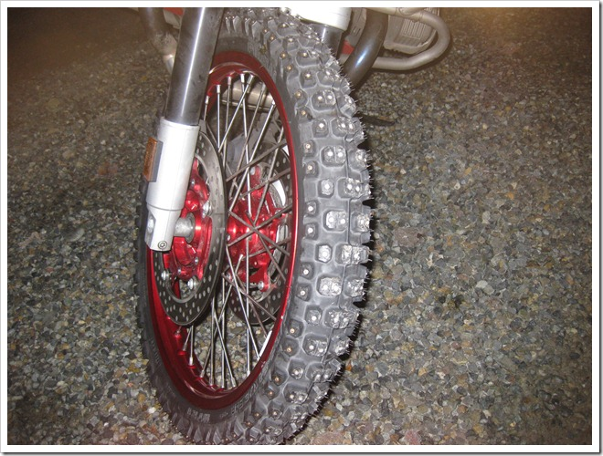 Studded tires aren't meeting my expectations